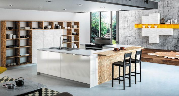 Cuisine moderne design contemporaine sagne cuisines - Image de cuisine contemporaine ...