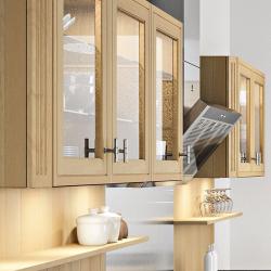 Éclairage meuble cuisine sur cuisine Loxley