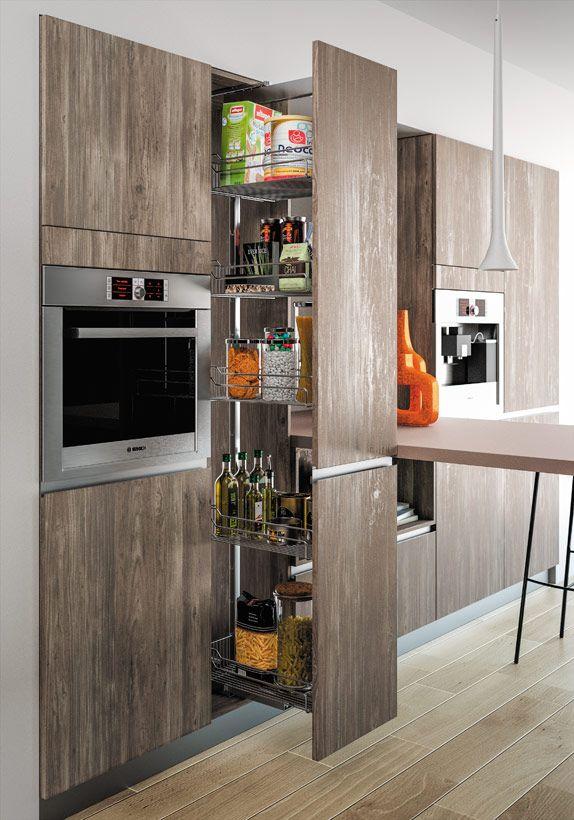 Deco Salon Blanc Noir Et Gris : Étoile structurée Modèle cuisine moderne effet matièreSagne