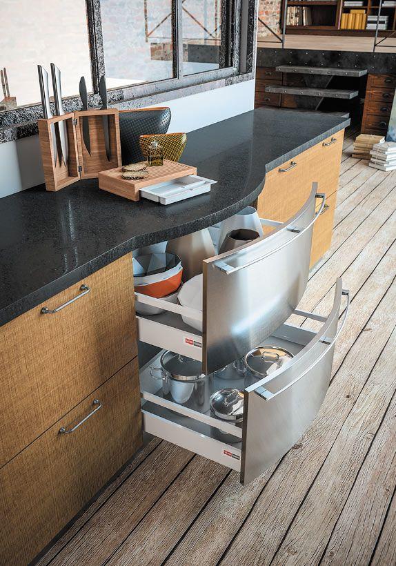 Laclusaz linxia sagne cuisines bois moderne aspect mat for Deboucher un evier de cuisine