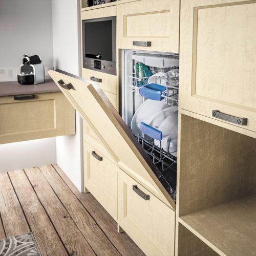 Meuble lave vaisselle sagne cuisines - Meuble cuisine lave vaisselle ...