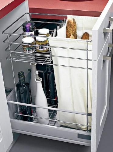Meuble range bouteille sagne cuisines - Sac a pain pour meuble de cuisine ...