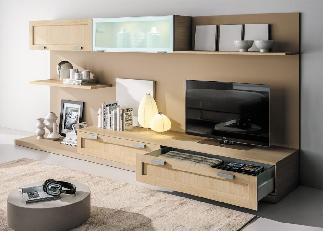 meuble de living tendance classique