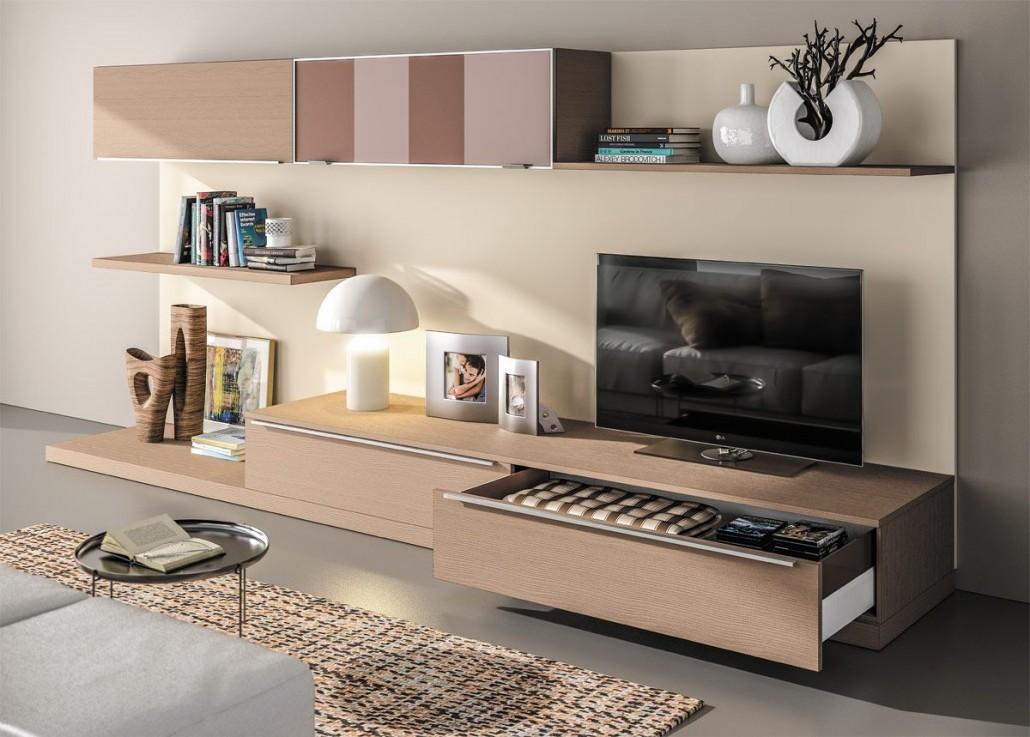 Meuble de living sagne cuisines for Living meuble salon