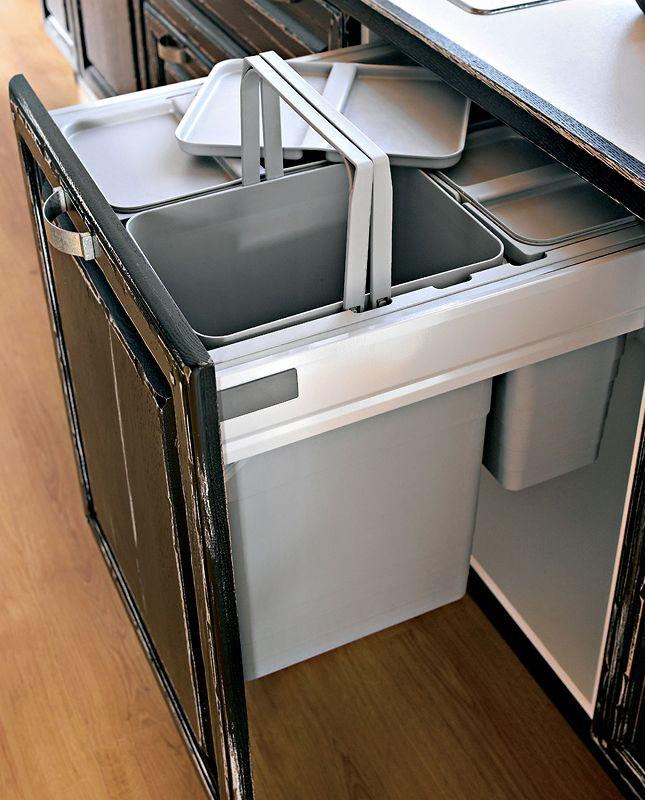 Meuble poubelle sagne cuisines for Meuble pour evier cuisine