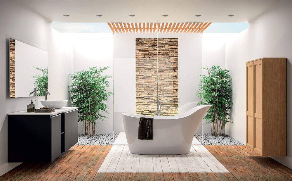 Meuble de salle de bains sagne cuisines for Salle de bain kardashian