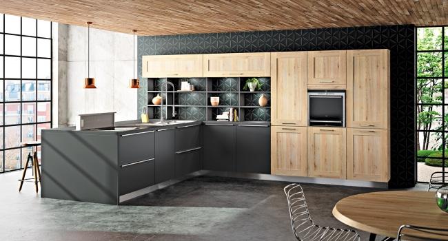 Cuisine contemporaine - Moderne & design - Sagne Cuisines
