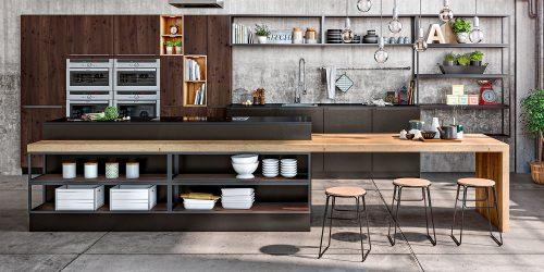 Cuisine Lounge-Chimère par SAGNE Cuisines
