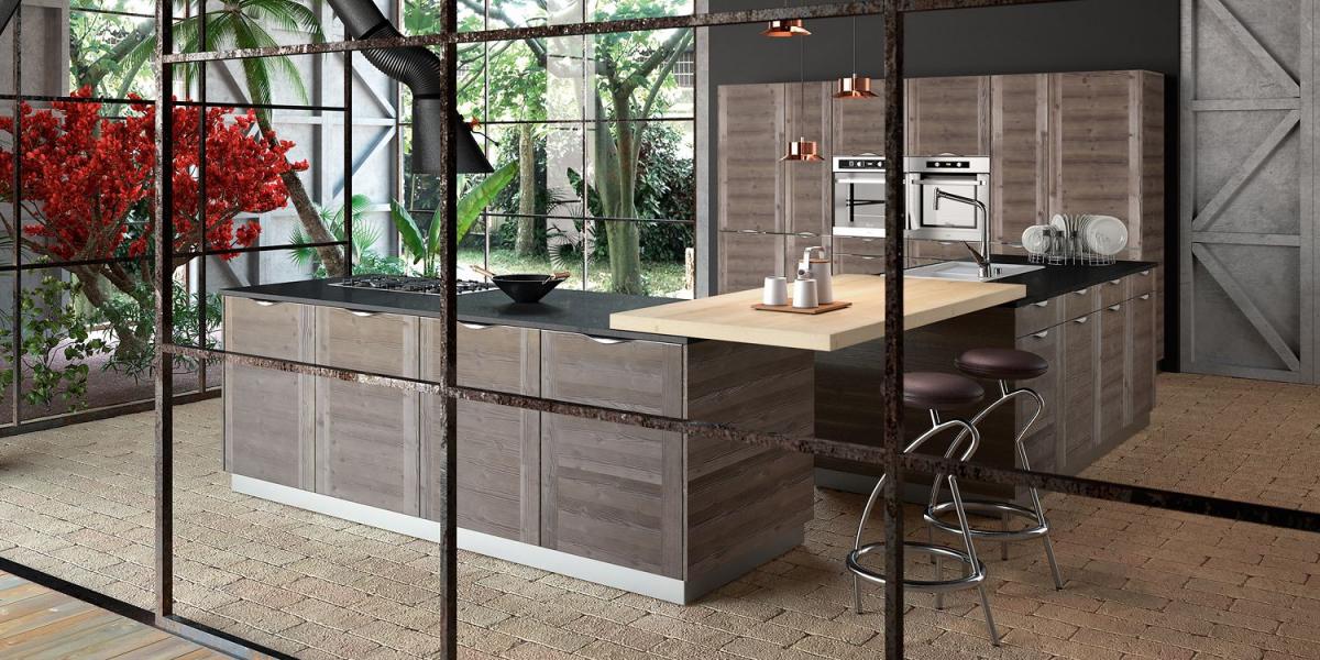 Cuisine bois moderne Galerie par SAGNE Cuisines