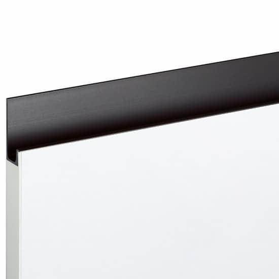Poignée cuisine-Profilé en alu noir