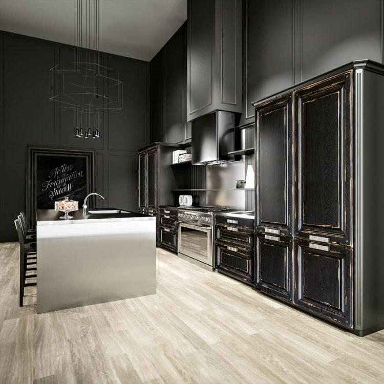 Autre vue de la cuisine modèle Épernay